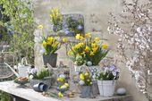Idées de décoration pour Pâques et le printemps   – Frühling