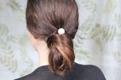 DIY Chanel Chignon & Pearl Bobby Pins by henryhappened #Hair #Chanel #Pearl_Pin