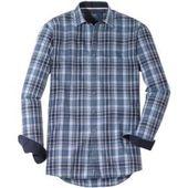 Bügelfreies Business-Hemd aus Popeline mit Kent-Kragen und Seidensticker – Products