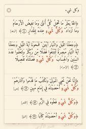 وكل شيء Math Quran Sheet Music