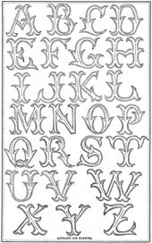 Antique Alphabet to Embroidery – Vintage Crafts an…