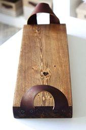 DIY Rustikales Ledergriffschale – #DIY #Ledergriff…