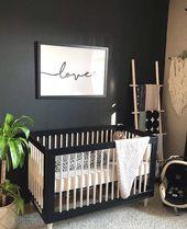 🌴nicht, aber ich liebe dieses Zimmer 🖤 • #babyletto …