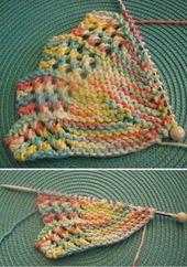 Knitted Lacy Round – Free Pattern