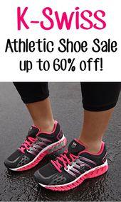 K-Swiss Athletic Shoe Sale: Bis zu 60% Rabatt !! #Schuhe #Die Frugalgirls
