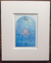 Baby Ilustration Water Baby Mini Print