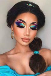 Jasmine Princess Makeup Idea #jasmine Mit unserer Auswahl der kreativsten H …   – makeup brushes