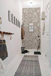 Brown leaves – removable wallpaper – brown wall mural | Reusable wallpaper | self adhesive peel&stick wallpaper #80