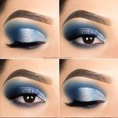 10 Super Blue Eye Makeup Ideen zum Ausprobieren – Seite 5 von 11