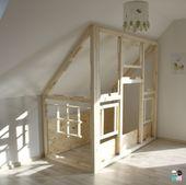 DIY – Ein Hausbett im Kinderzimmer – #chellisrainbowroom – Metterschling und Maulwurfn