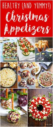 Healthy (AND Yummy!) Christmas and New Year's Holiday Appetizers – Six Clever Sisters
