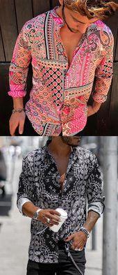 Yatacity Scorching Sale Summer season Floral Shirts Assortment For Man #Shirt #MenStlye #Mens…