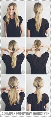Frisuren für jeden Tag