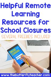 Helpful Remote Learning Resources for School Closures