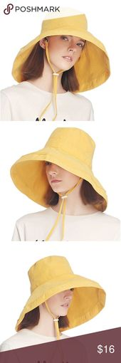 Womens Sun Hat Summer UV Protection Beach Hat 100% Cotton Fabric; 20% Cotton/ 80… – Hutmodelle