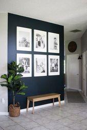 Gallery wall ideas to inspire – #bedroomdecorBrown #bedroomdecorDesk #bedroomdec…
