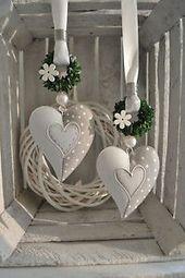 Fensterdeko forme de coeur en métal 14×11 cm incurvée -…