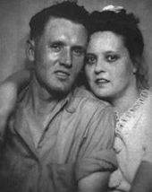 Vernon y Gladys Presley   – Black and White Photos