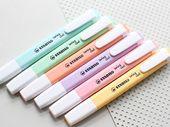 Stabilo Cool Swing Pastel, Stabilo Pastel highlighters, Pastel highlighting pens, Pastel markers, Pastel Highlighters, Stabilo Cool Swing