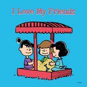 ERDNÜSSE an   – Charlie Brown & Snoopy & the Gang