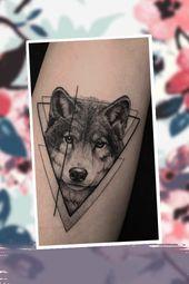Cool – 50 der schönsten Wolf Tattoo Designs, die das Internet je gesehen hat