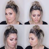 Super einfache Frisuren für kurzes Haar – Neue Frisuren 2018   – Hair and beauty