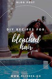 Erhaltenes gebleichtes Haar? Hier sind DIY Hair Mask Rezepte, die Sie ausprobieren können