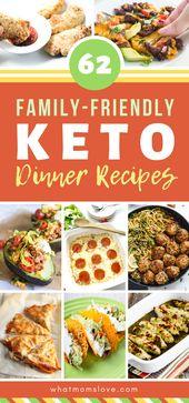 Recetas familiares para la cena Keto | En la dieta cetogénica? Estos keto mea fáciles …