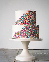 20 Gorgeous Buttercream Painted Cakes – Desserts