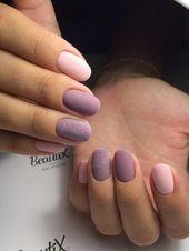 Modest manicure for short nails. Always love … – # – #Shared # … – Nagel Kunst