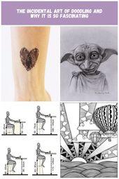 Set von zwei Mal der Zeichnung eines Herzens. Grôße ca : 3.5×3 cm.   Tattoorar… – illustration
