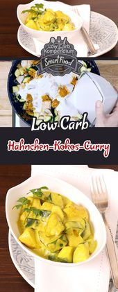 Chicken and Coconut Curry – A fine low-carb lunch   – rezepte