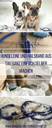 #auch #aus #bestehend #DIYHundeleine #DIYSet #ein