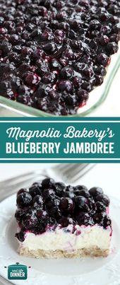 Kopieren Sie Cat Rezept von Magnolia Bakery Bluebe…