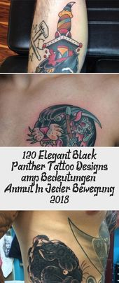 120+ elegante Black Panther Tattoo Designs & Bedeutungen – Anmut in jeder Bewegung …   – Tattoo Art