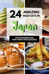 Strive these 28 Japanese meals if you are in Japan!