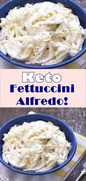 Keto Fettuccini Alfredo!