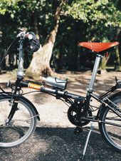 Dahon Boardwalk D8 Upgraded Poses At The Edge Of The Road Of Ambon