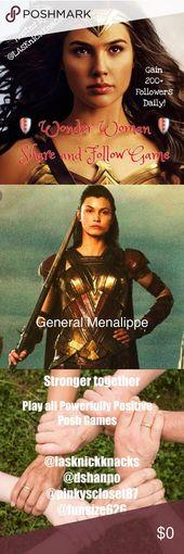 We Are Featured W Lasknickknacks Come Play Wonder Woman Gain Followers Wonder