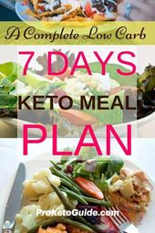 How effective can be a 7-day keto meal plan be? If you are a beginner in ketogen…