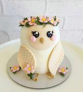 Eulentorte Rezept – #Keine Torte #Rezept – Mode – # – Torte – #Eulke Torte # …   – Food and drinks