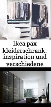 Ikea pax kleiderschrank. inspiration und verschiedene kombinationen für das perfekte ankleidezimm 11