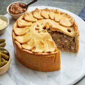 Marthas Deep Dish Meat Pie ist von innen und außen beeindruckend – Recipes