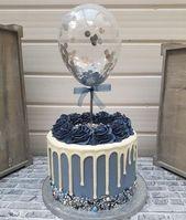 """Ballon Cake Topper Konfetti 5 """"Party Geburtstag Hochzeit Hen Baby Dusche verlobt Baker Cake Dec …   – Meals"""