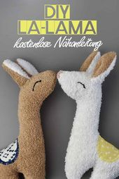 DIYLA LLAMA! Free sewing instructions with pattern – sugar and cinnamon design