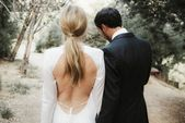 21 Ponytail Wedding Hairstyles for the Modern, Romantic Bride