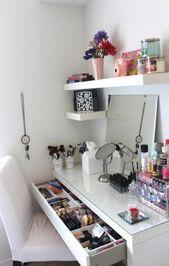 Bedroom ideas for teen girls diy desks 15 Ideas