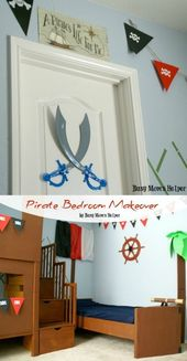 Piraten Schlafzimmer Makeover   – DIY For the Home