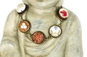 Boho Armband bronze rot, einzigartiges Gliederarmband, Armschmuck im Vintage-Stil, Modeschmuck   – Jewelry / Home Decor / Schmuck / Gift Ideas / Geschenkideen by LonasART