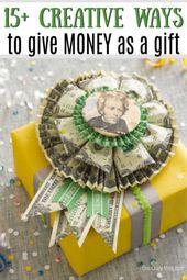 Money gift ideas – 15+ cute ideas for giving money